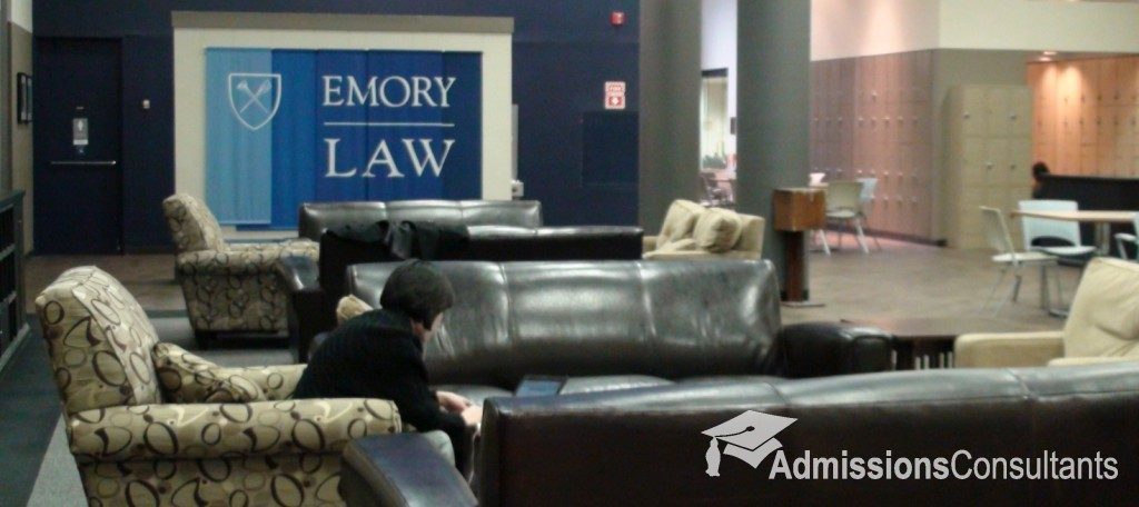 emory law admission