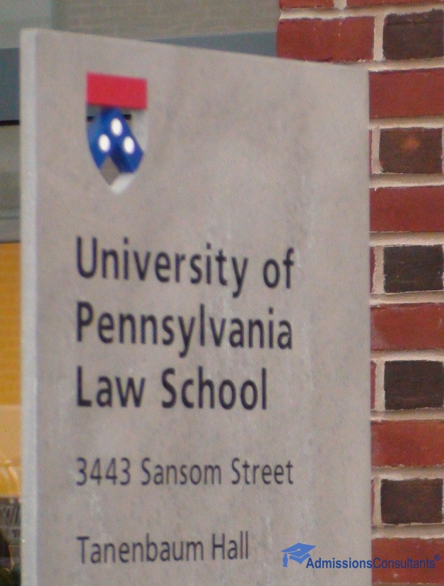 Penn Law sign